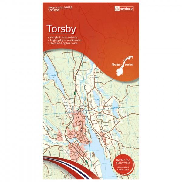 Nordeca - Wander-Outdoorkarte: Torsby 1/50 - Turkart