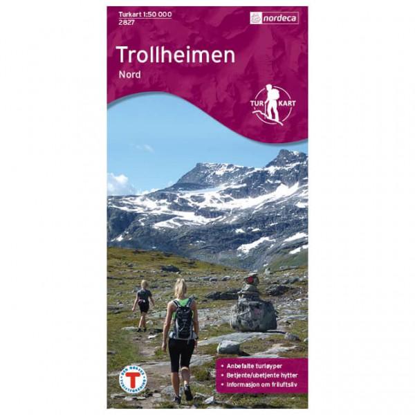 Nordeca - Wander-Outdoorkarte: Trollheimen Nord 1/50 - Vandringskartor