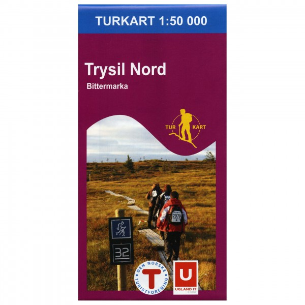 Nordeca - Wander-Outdoorkarte: Trysil Nord 1/50 - Vaelluskartat