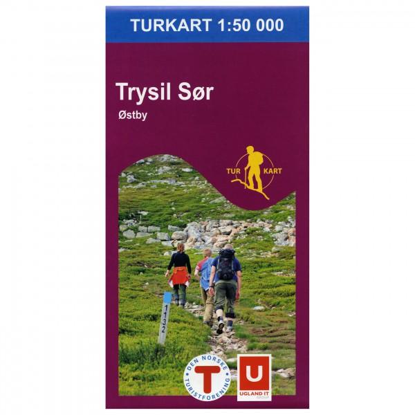 Nordeca - Wander-Outdoorkarte: Trysil Sør 1/50 - Vandrekort