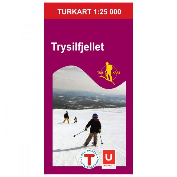 Nordeca - Wander-Outdoorkarte: Trysilfjellet 1/25 - Hiking map