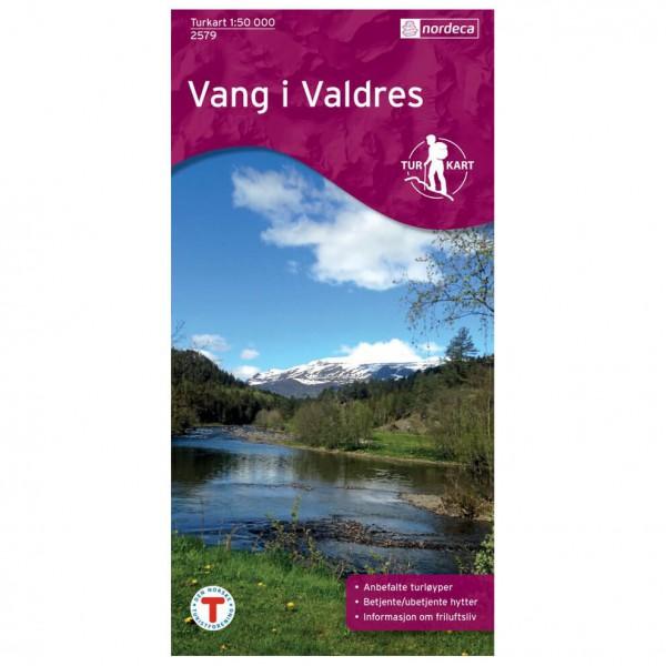 Nordeca - Wander-Outdoorkarte: Vang I Valdres 1/50 - Vandringskartor