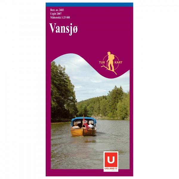 Nordeca - Wander-Outdoorkarte: Vansjø 1/25