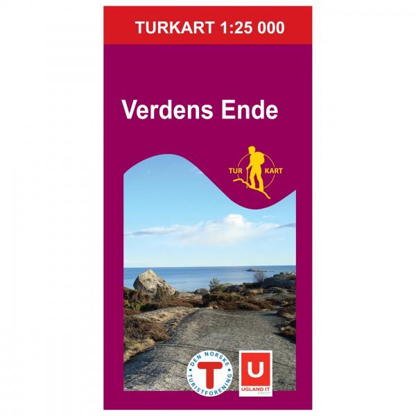Nordeca - Wander-Outdoorkarte: Verdens Ende 1/25 - Vaelluskartat