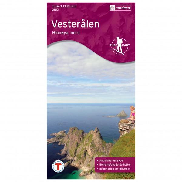 Nordeca - Outdoorkarte: Vesterålen - Wandelkaarten