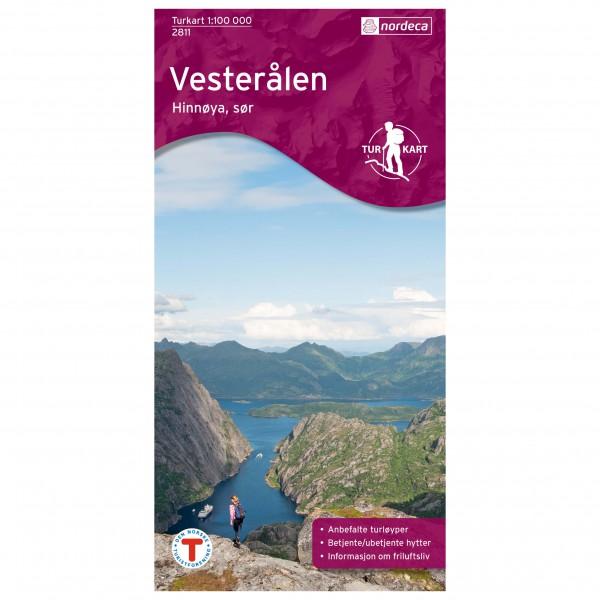Nordeca - Outdoorkarte: Vesterålen - Hinnoya Sør 1/100