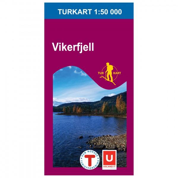 Nordeca - Wander-Outdoorkarte: Vikerfjell 1/50 - Wandelkaarten