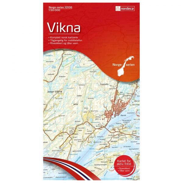 Nordeca - Wander-Outdoorkarte: Vikna 1/50