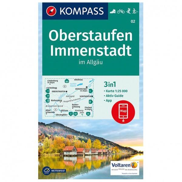 Oberstaufen, Immenstadt im Allg ¤u - Hiking map