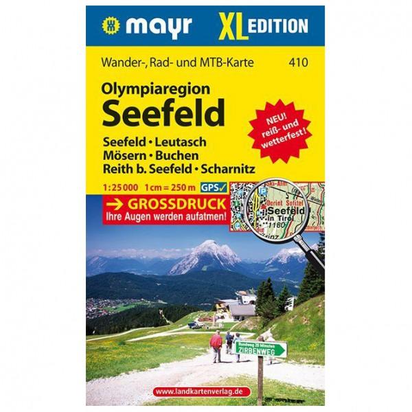 Kompass - Olympiaregion Seefeld XL - Hiking map