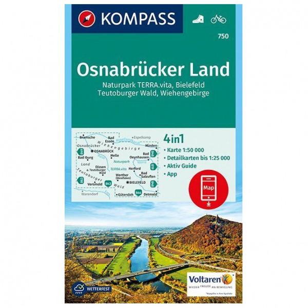 Kompass - Osnabrücker Land - Hiking map