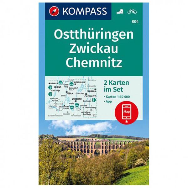 Kompass - Ostthüringen, Zwickau, Chemnitz - Vaelluskartat