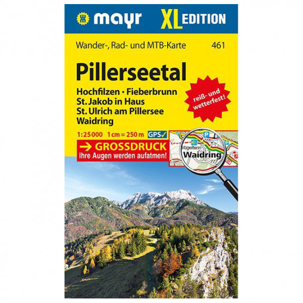 Kompass - Pillerseetal XL - Vandringskartor