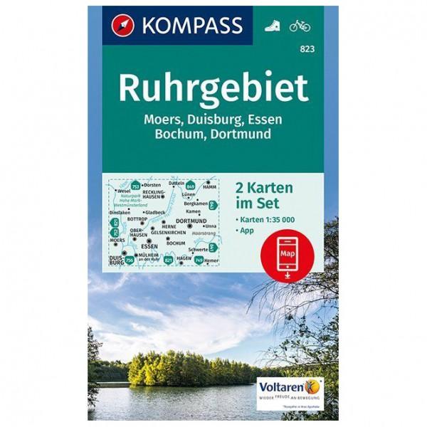 Kompass - Ruhrgebiet Karte - Wanderkarte