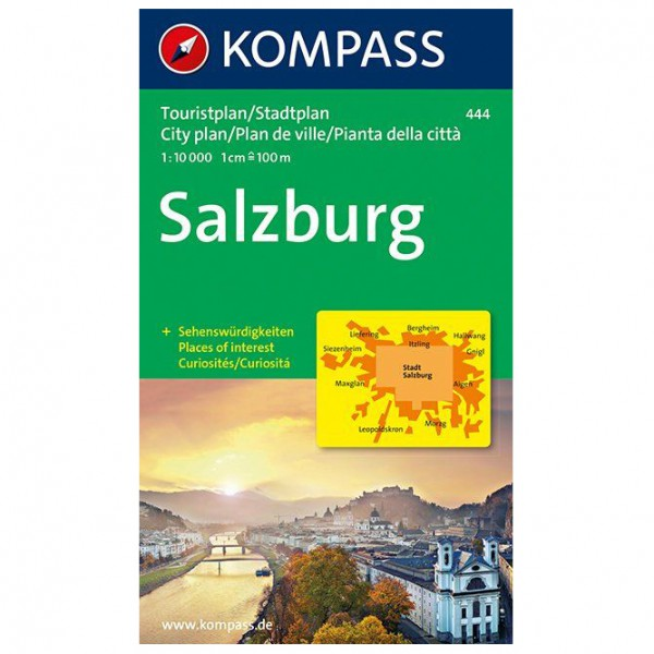 Kompass - Salzburg - Wanderkarte