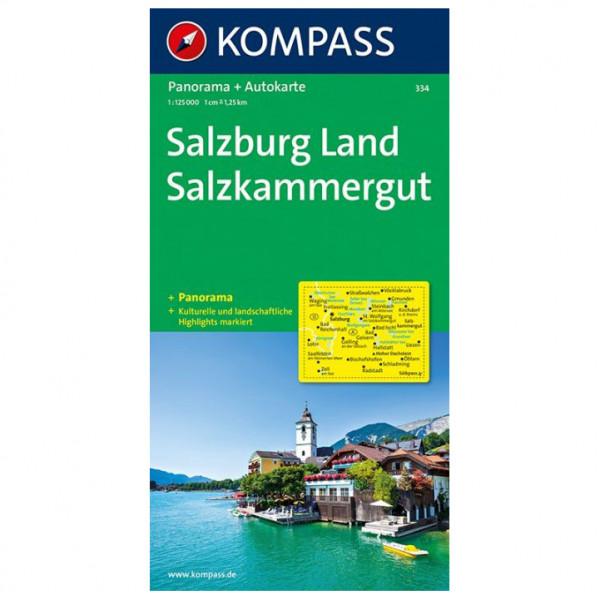Kompass - Salzburg Land - Salzkammergut - Hiking map