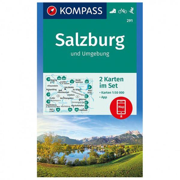 Kompass - Salzburg und Umgebung - Mapa de senderos