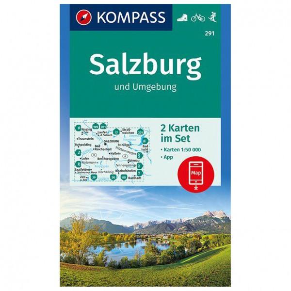 Kompass - Salzburg und Umgebung - Turkart