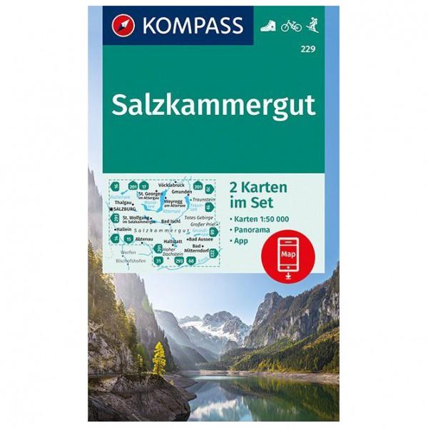 Kompass - Salzkammergut Karte - Wandelkaarten