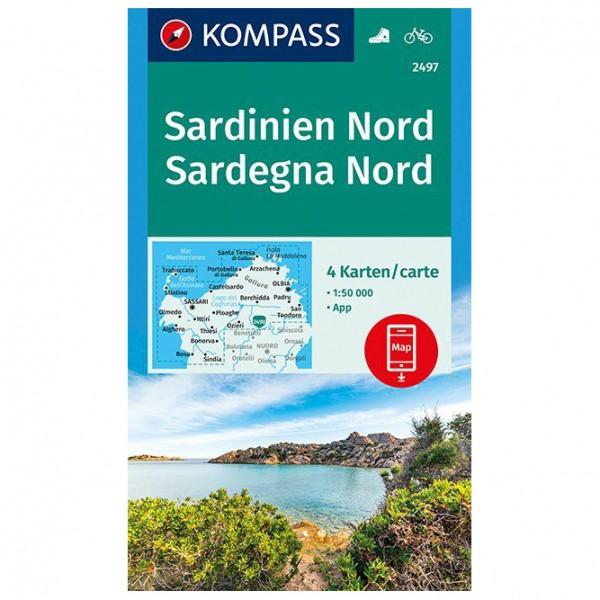 Kompass - Sardinien Nord, Sardegna Nord - Turkart