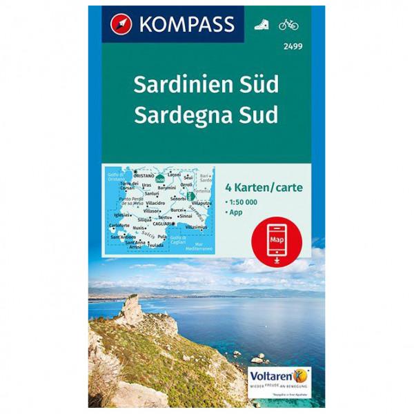 Kompass - Sardinien Süd, Sardegna Sud - Vandrekort