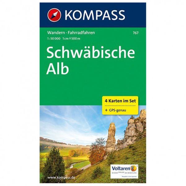 Kompass - Schwäbische Alb Karte - Turkart