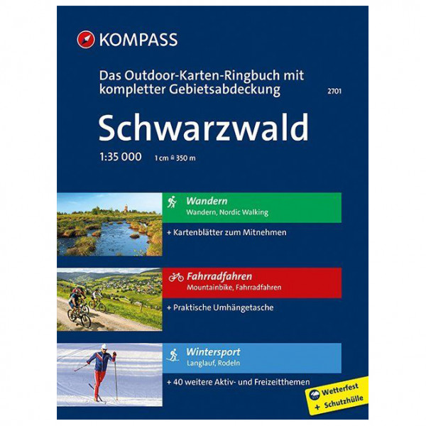 Kompass - Schwarzwald - Wandelkaarten