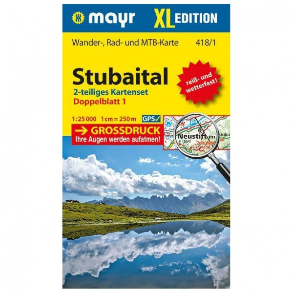 Kompass - Stubaital XL (2-Karten-Set) - Turkart