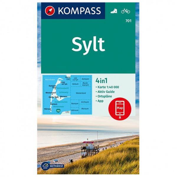 Kompass - Sylt - Vandrekort