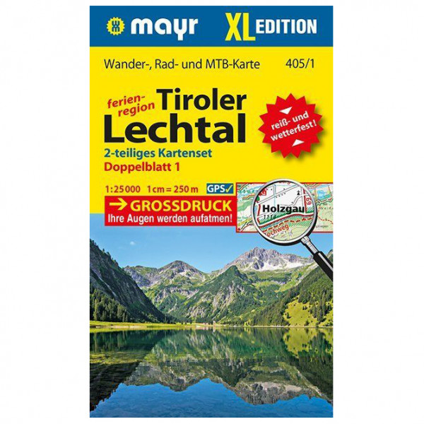 Kompass - Tiroler Lechtal XL (2-Karten-Set) - Hiking map