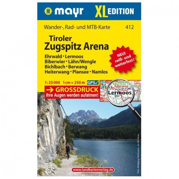 Kompass - Tiroler Zugspitz Arena XL - Wandelkaart