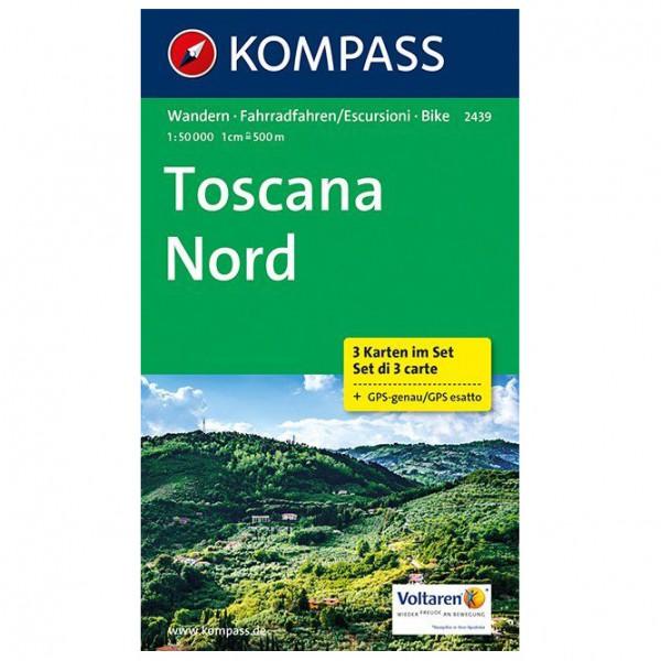 Kompass - Toscana Nord - Vaelluskartat