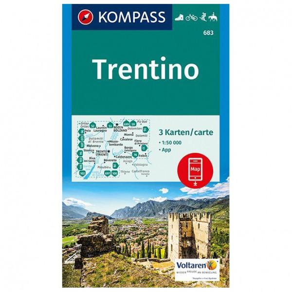 Kompass - Trentino - Wandelkaart