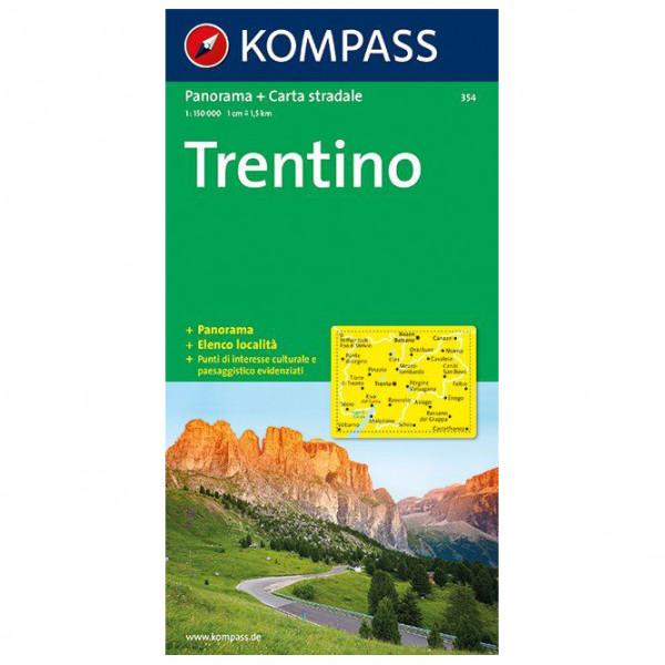 Kompass - Trentino Panorama - Vaelluskartat