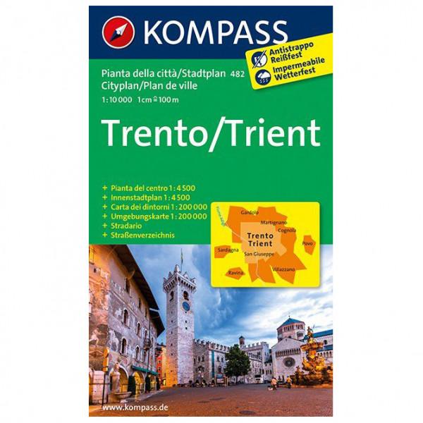 Kompass - Trento /Trient - Carte de randonnée