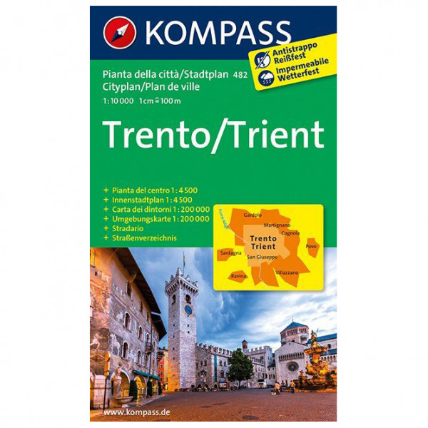 Kompass - Trento /Trient - Hiking map