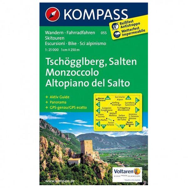 Kompass - Usedom, Wollin/Wolin - Vandringskartor