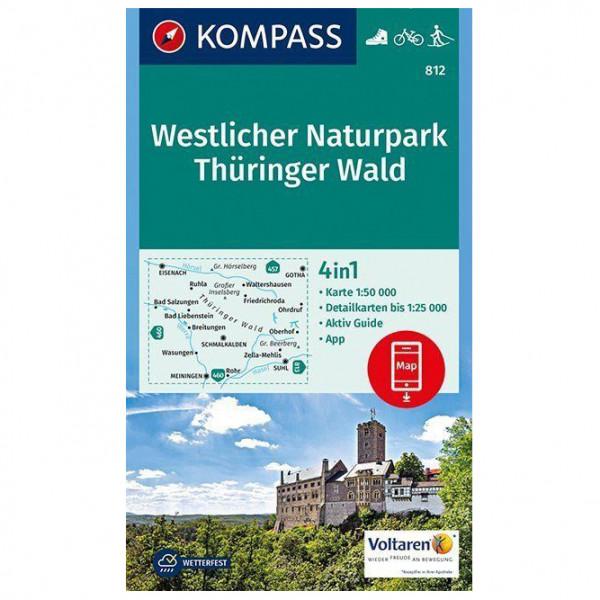 Kompass - Westlicher Naturpark Thüringer Wald - Hiking map