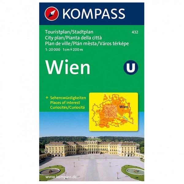 Kompass - Wien Karte - Vandrekort
