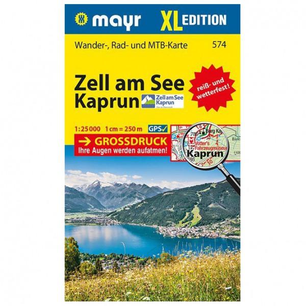 Kompass - Zell am See, Kaprun XL - Vaelluskartat
