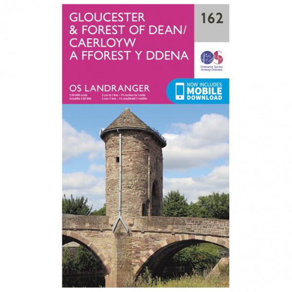 Ordnance Survey - Gloucester / Forest Dean - Hiking map