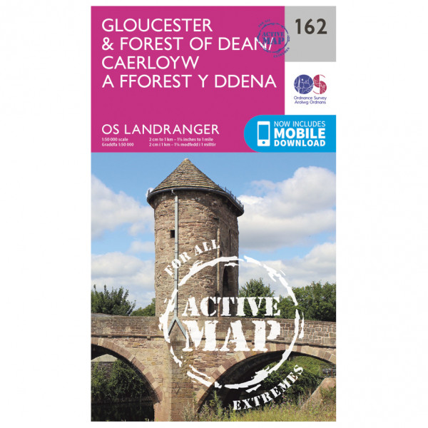 Ordnance Survey - Gloucester / Forest Of Dean Waterproof - Mapa de senderos