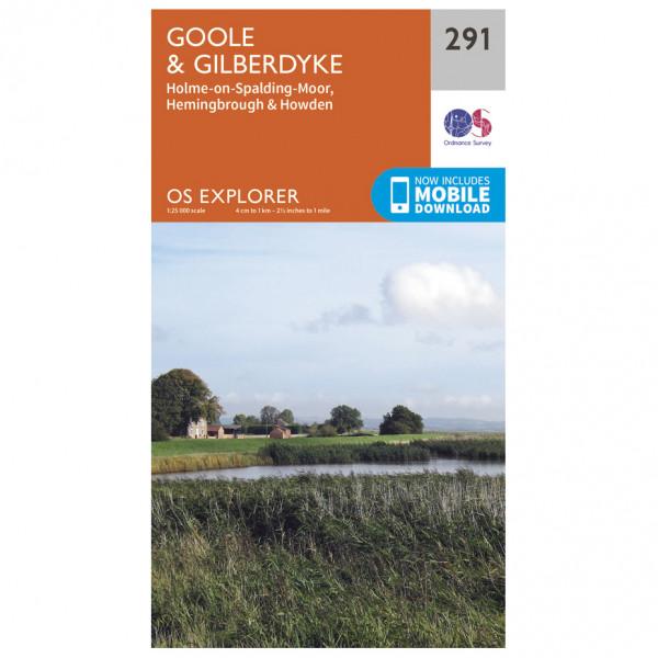 Ordnance Survey - Goole / Gilberdyke - Vandringskartor