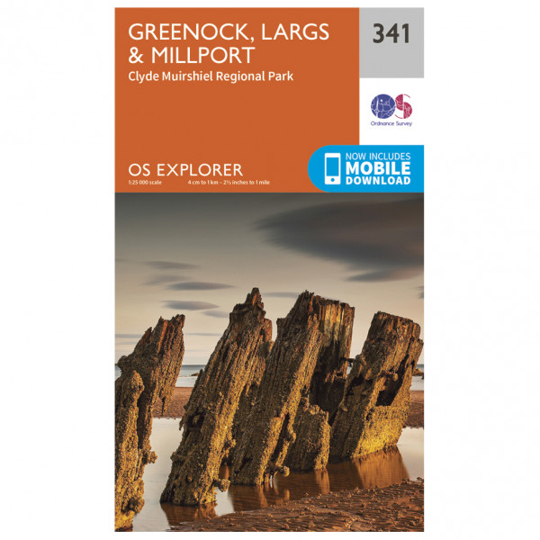 Ordnance Survey - Greenock / Largs / Millport - Vaelluskartat