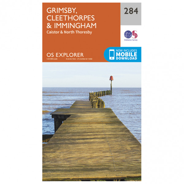 Ordnance Survey - Grimsby / Cleethorpes / Immingham - Wandelkaart