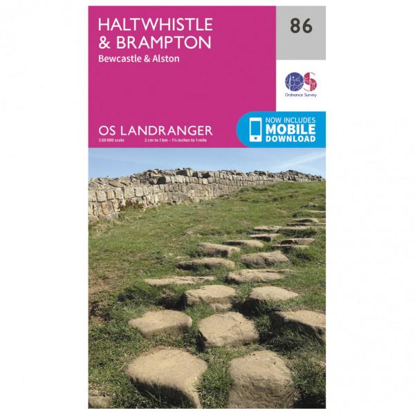 Ordnance Survey - Haltwhistle / Brampton - Wanderkarte