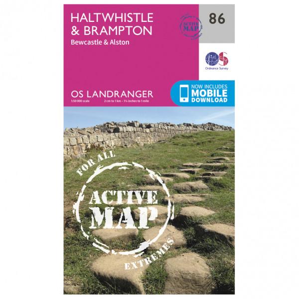 Ordnance Survey - Haltwhistle / Brampton Waterproof - Hiking map
