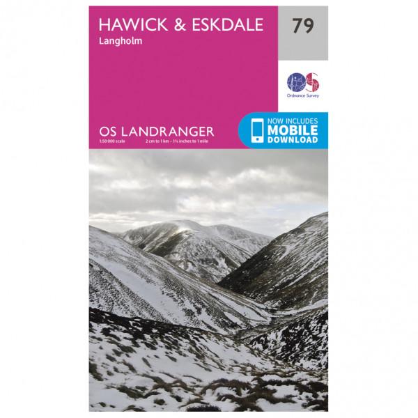 Ordnance Survey - Hawick / Eskdale L079 - Wanderkarte