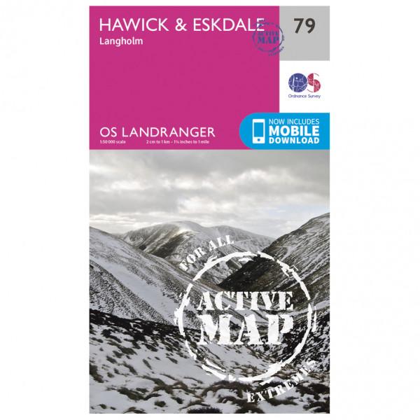 Ordnance Survey - Hawick / Eskdale Waterproof - Vandringskartor