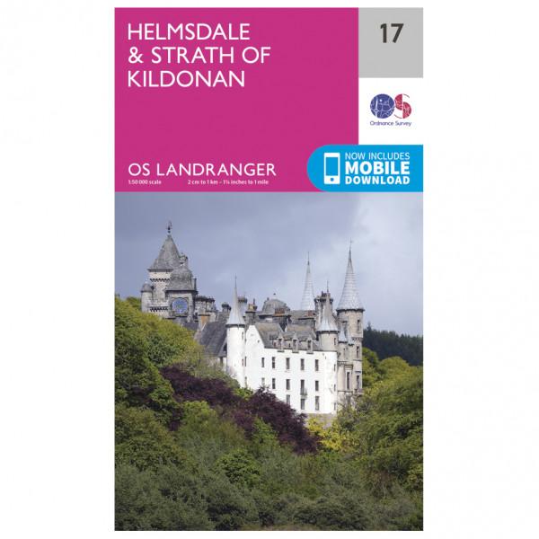 Ordnance Survey - Helmsdale / Strath Of Kildonan - Hiking map